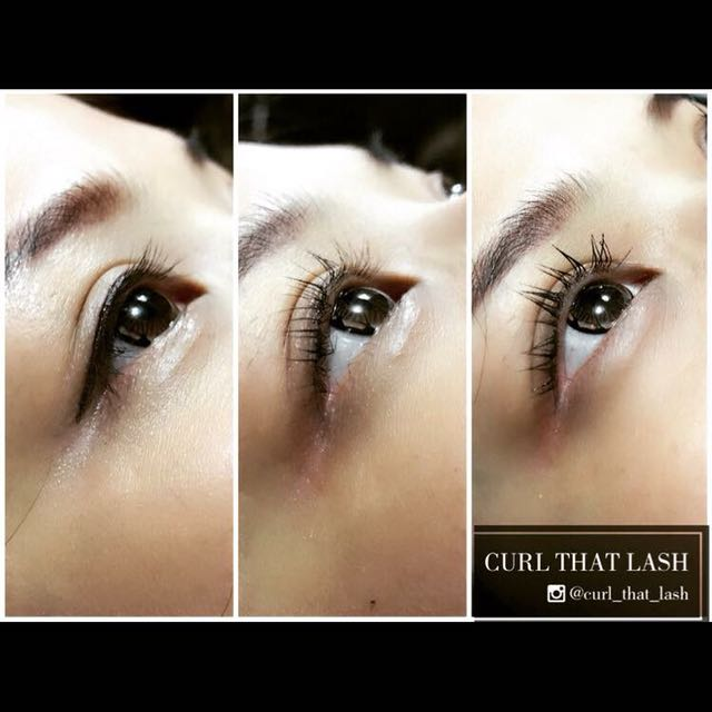 Eyelash Lifting With Semi Permanent Mascara Health Beauty Makeup