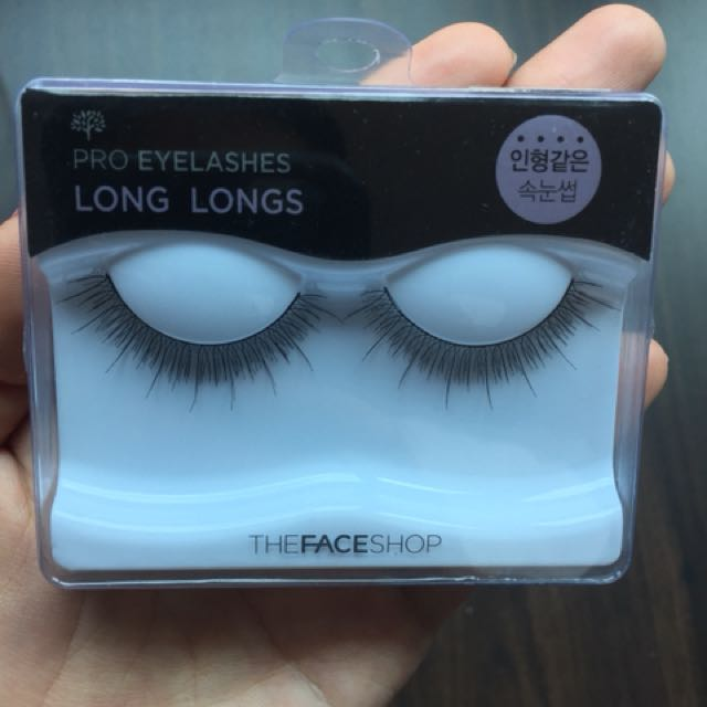 ce8ea769795 Fake Eyelashes from the Face Shop, Health & Beauty, Makeup on Carousell