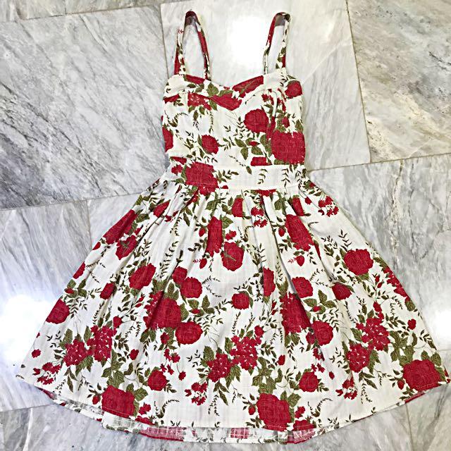 Floral dress (vintage)