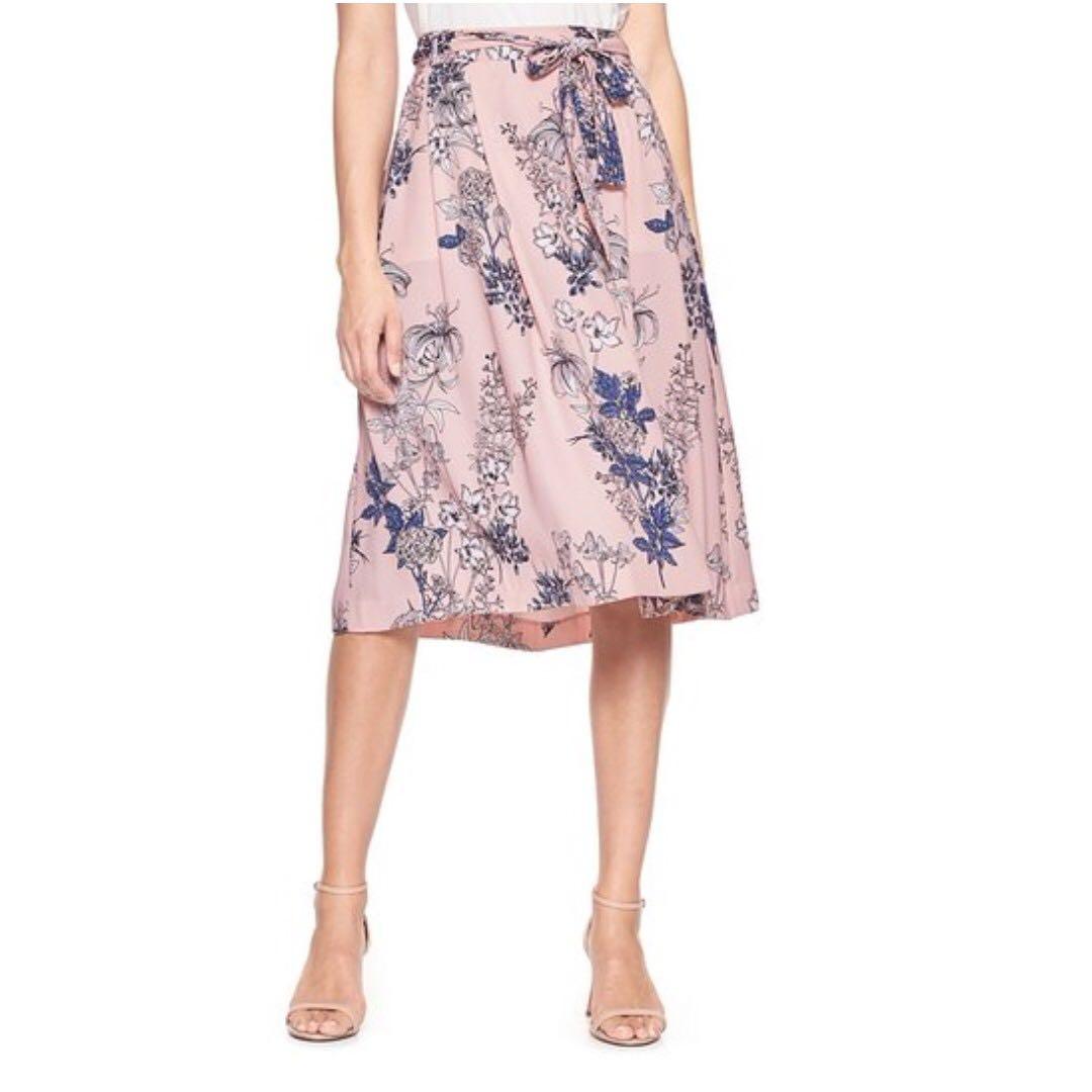 Floral Wrap Skirt (6)