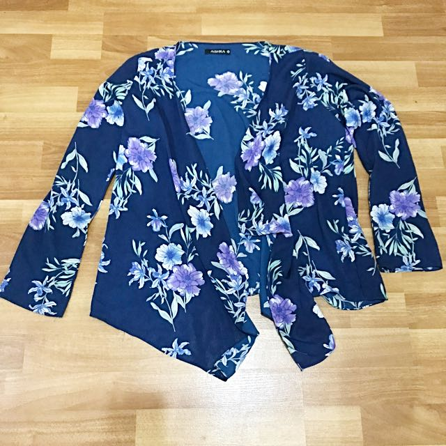 Flowery Outer Navy