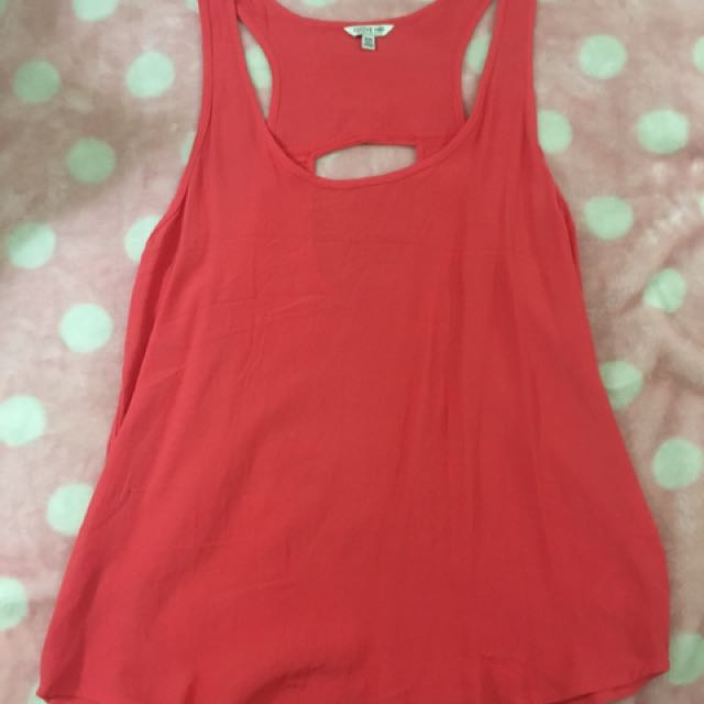 Forever 21 Pink Sleeveless Top