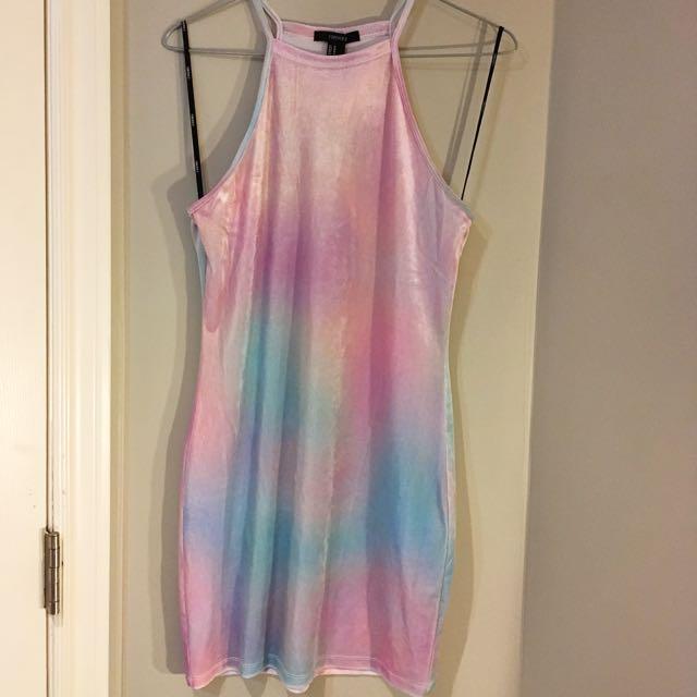 Forever 21 Unicorn Dream Bodycon Dress