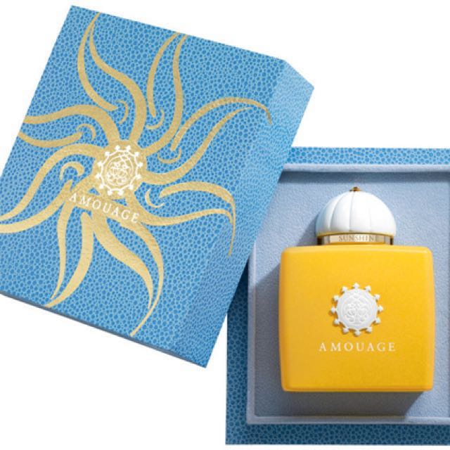 Free Shipping! Amouage Sunshine Perfume for Women 100 ml