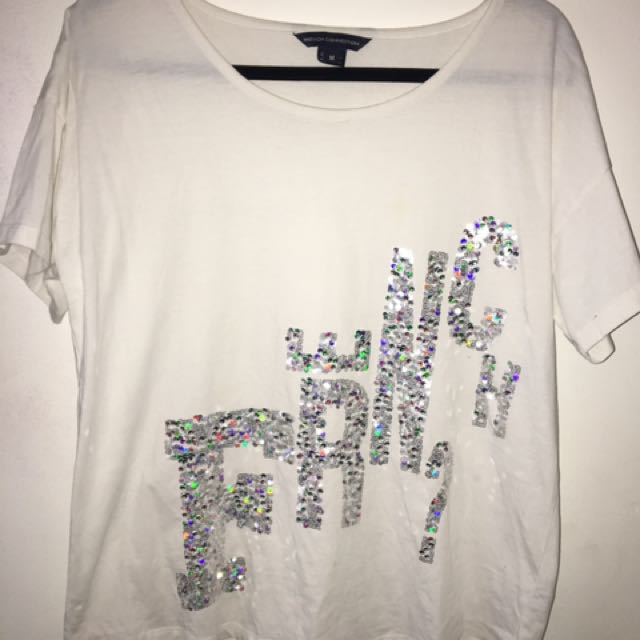 French Connection Sequin Tee