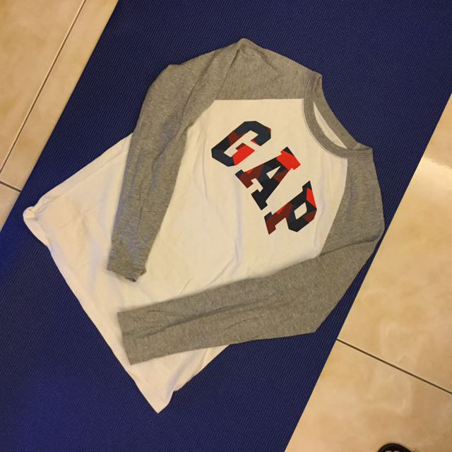 Gap kids logo上衣