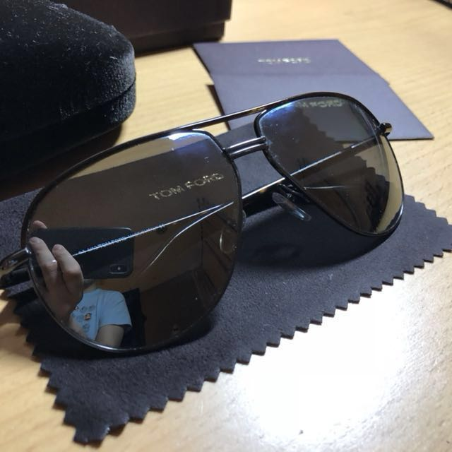 fbde9c531f7 Genuine Tom Ford Cole Aviator Sunglasses