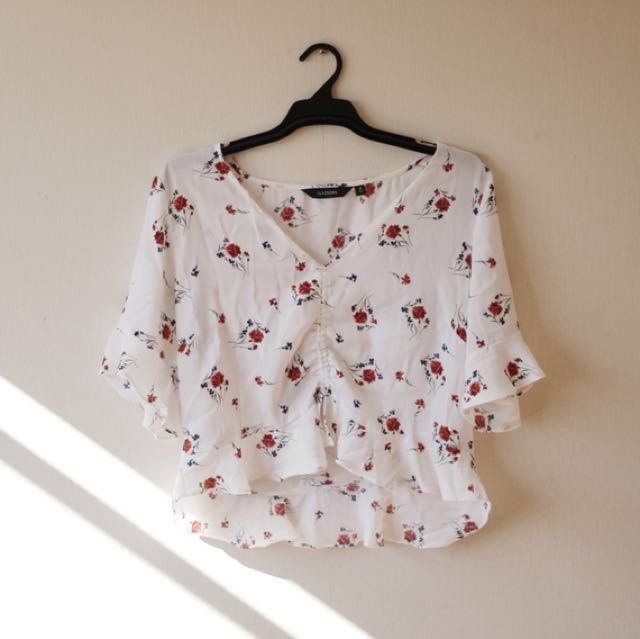 Glassons Cropped Blouse
