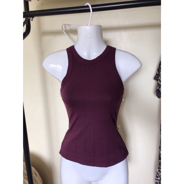 High neck top size 12