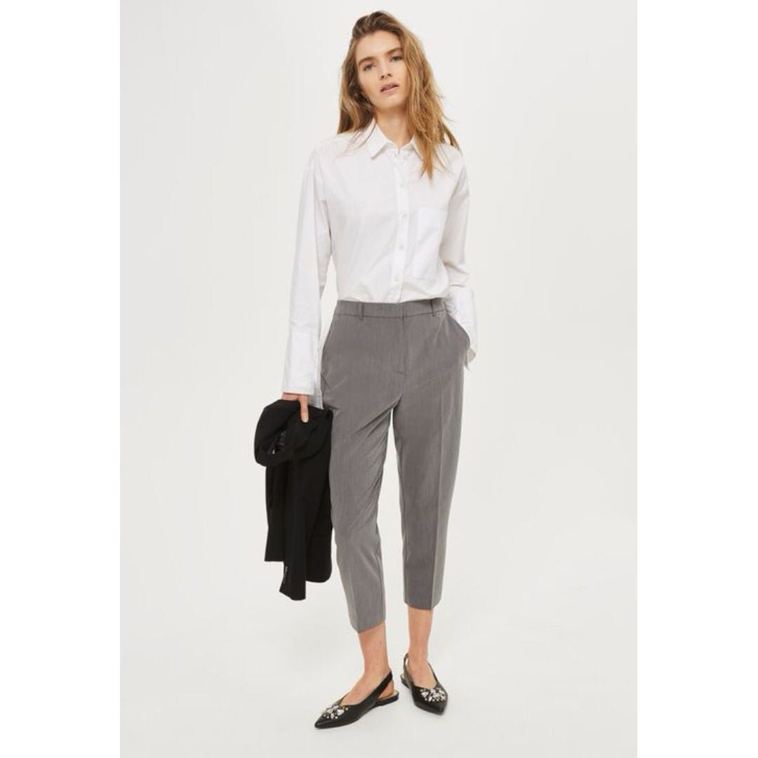 High Waisted Cigarette Trousers (8)