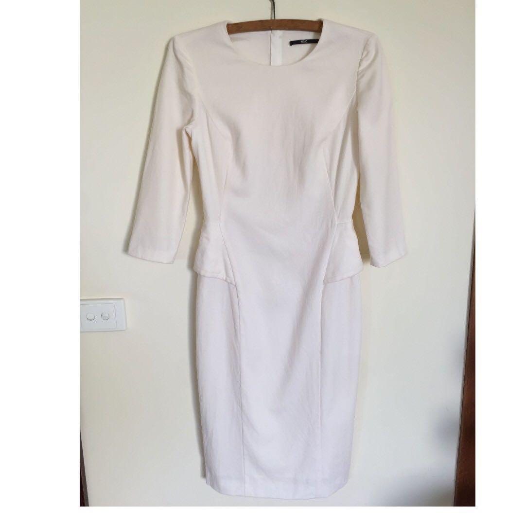Hugo Boss Size 6 BOSS Dynelle wool dress