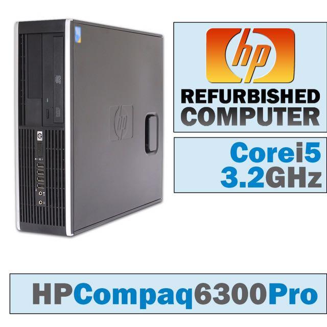 i5 3rd GEN / HP 6300 PRO / i5 - 3470 / HARD DISKS 250GB / RAM 4GB DDR3 /  CORE i5 3rd GENERATION / PC DESKTOP COMPUTER