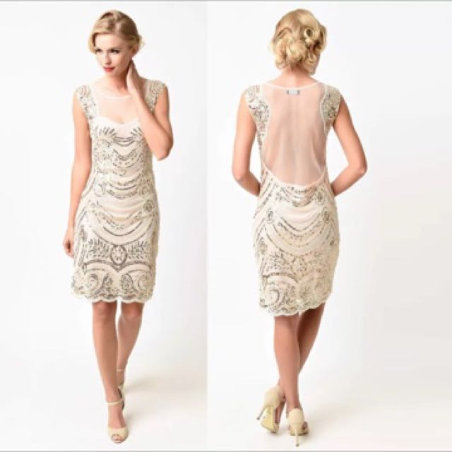 Where to buy great gatsby dress in singapore graduation for less long