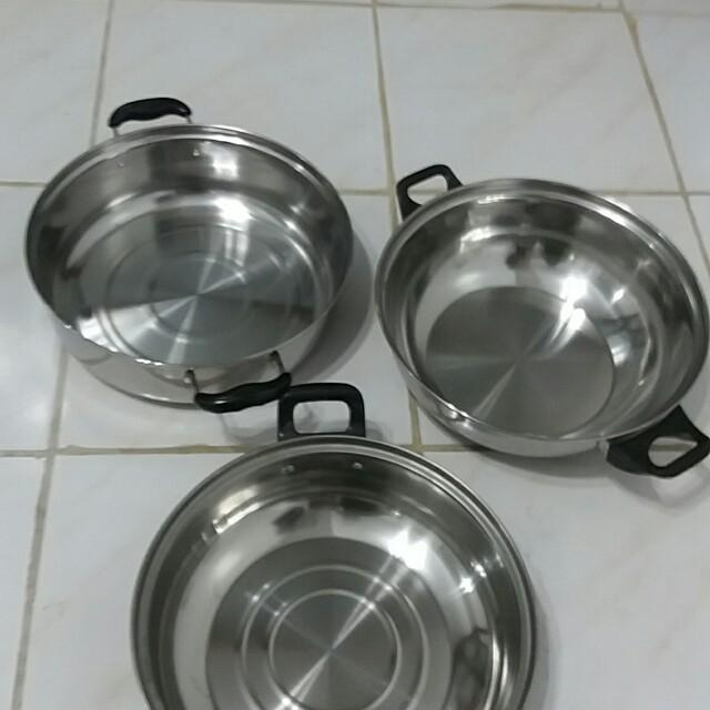 Induction cooker pans Bundle