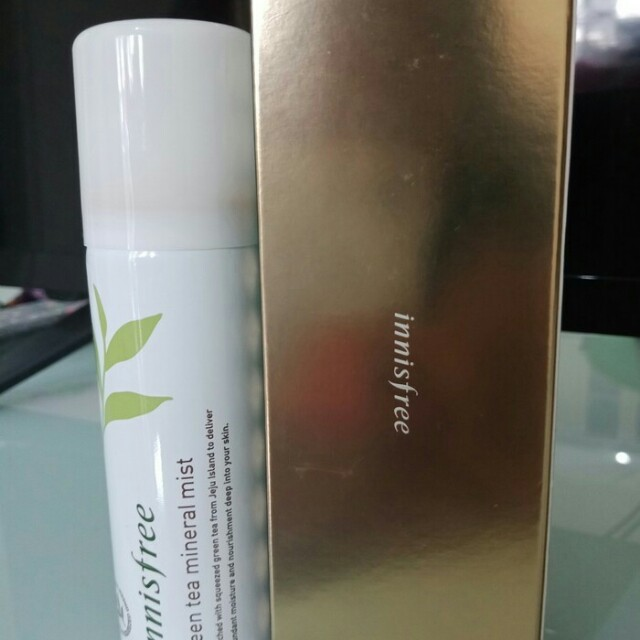 Innisfree green tea face mist