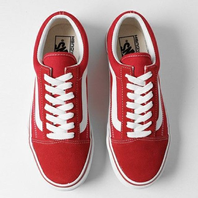 202d8c8496 Instock  Vans Old Skool DX V36 Red