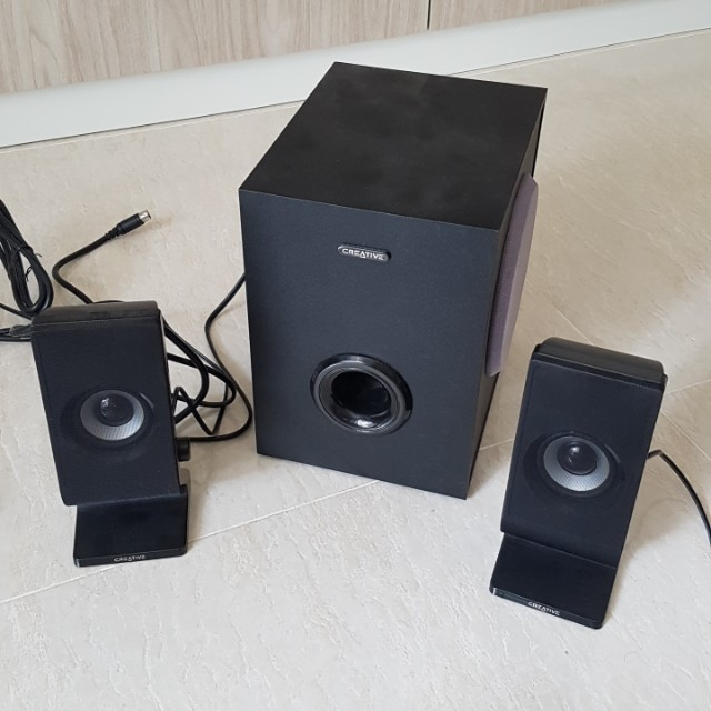 issue Creative SBS A200 21 speakers Electronics Audio on Carousell