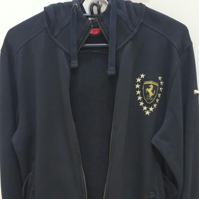 c480af5283ce Jacket Sweater Baju Sejuk Puma Scuderia Ferrari