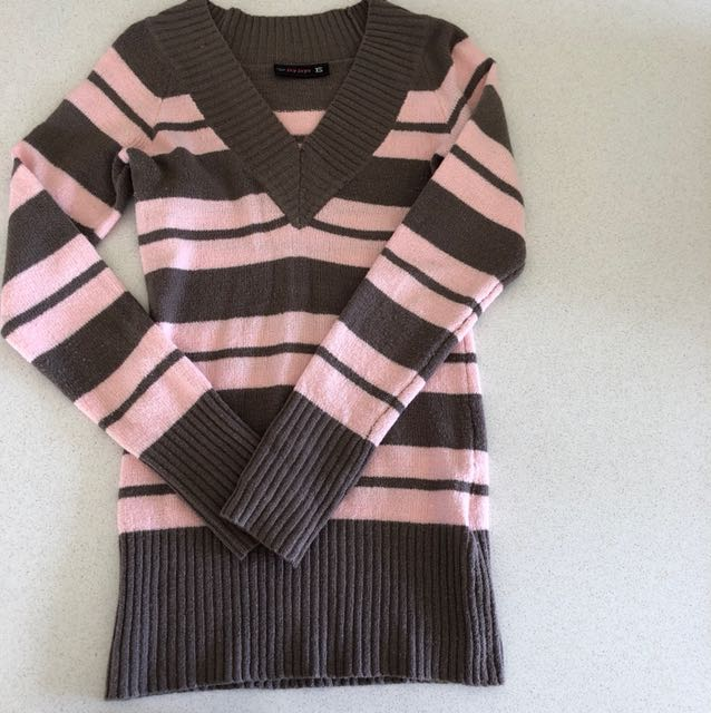 Jay Jays Knit Dress Top XS Pink