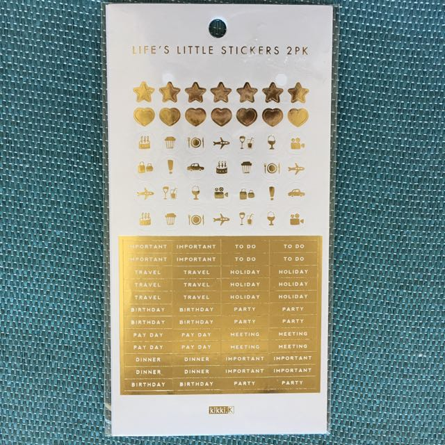 Kikki K Sticker Sheet