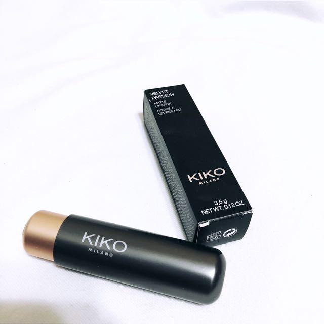 KIKO velvet passion matte lipstick 舒適啞光唇膏