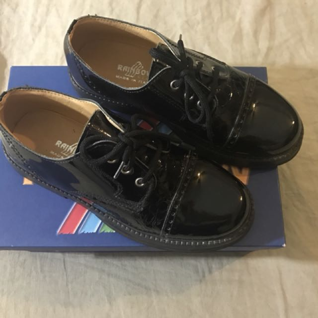 *Last Pair* $10 Brand-new Italian leather boys shoes
