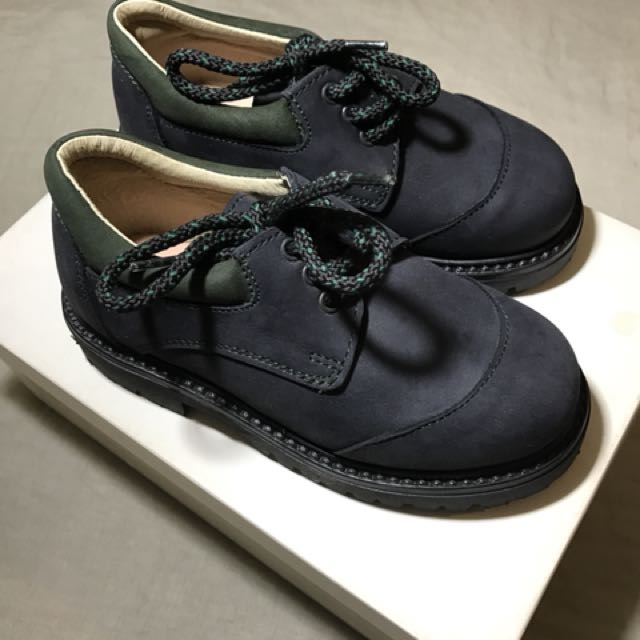 *Last Pair* $10 Italian leather boys tie-up shoes