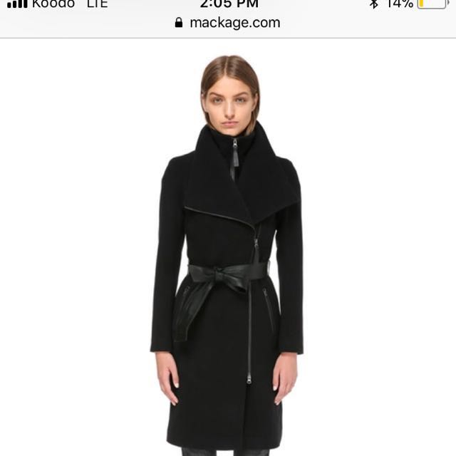 Mackage Nori Wool Coat