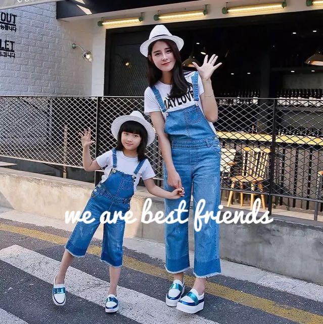 Matching mum & daughter jump-suit