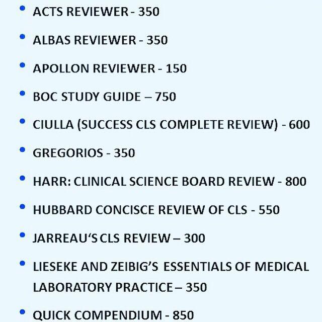 med tech board exam reviewer textbooks on carousell rh ph carousell com med tech study guide mass med tech study guide mass