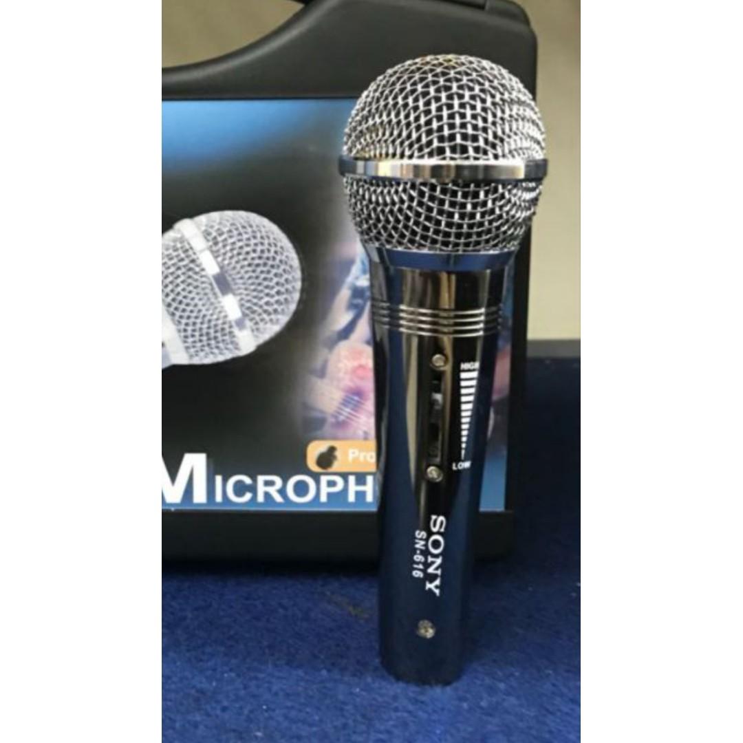 Kabel Cable Mic Mik Mikrofon 10 Meter Microphone Karaoke Pro Microfon Homic Hm 138 Sistem Sony Oem Music Media Accessories On Carousell