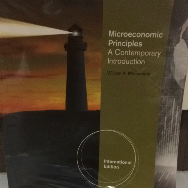 Microeconomic Principles A Contemporary Introduction