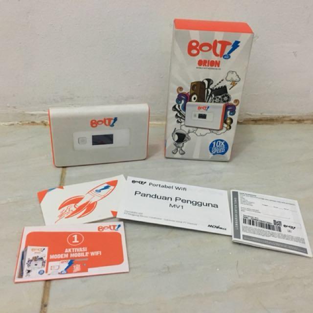 MiFi Bolt 4G Orion Movi Max MV 1