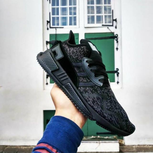 newest 77819 5a4d4 (Mirror) Adidas EQT Support ADV 97/13 Cushion Triple Black