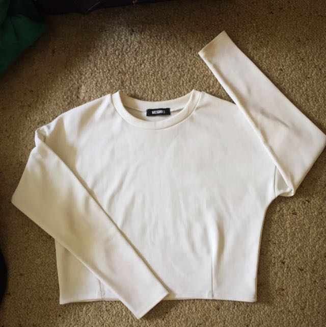 Misguided White Jumper