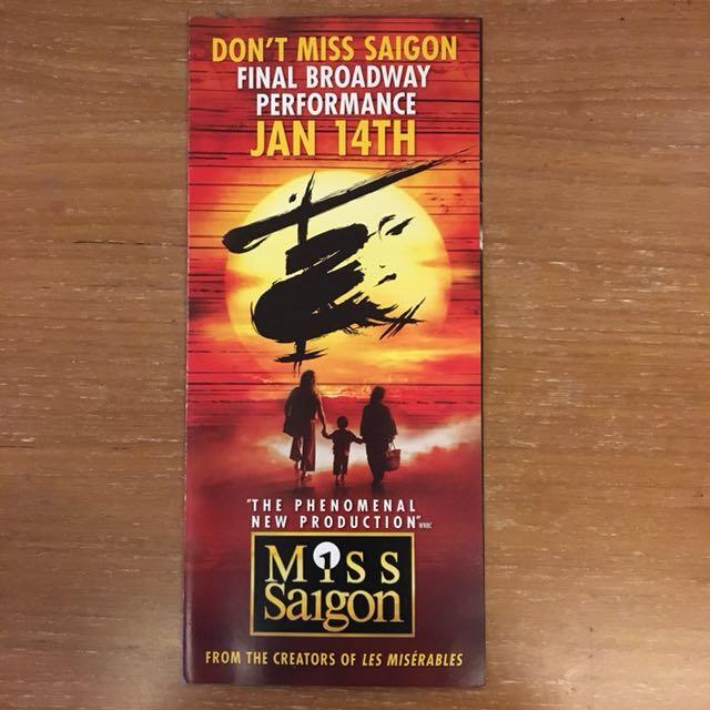Miss Saigon (Broadway FLYER)