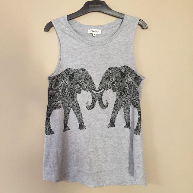 Miss Shop elephant tank top