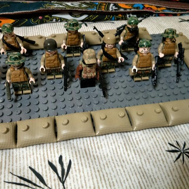 MOC FSK Special Army Advisors. (Lego Compatible), Toys & Games ...