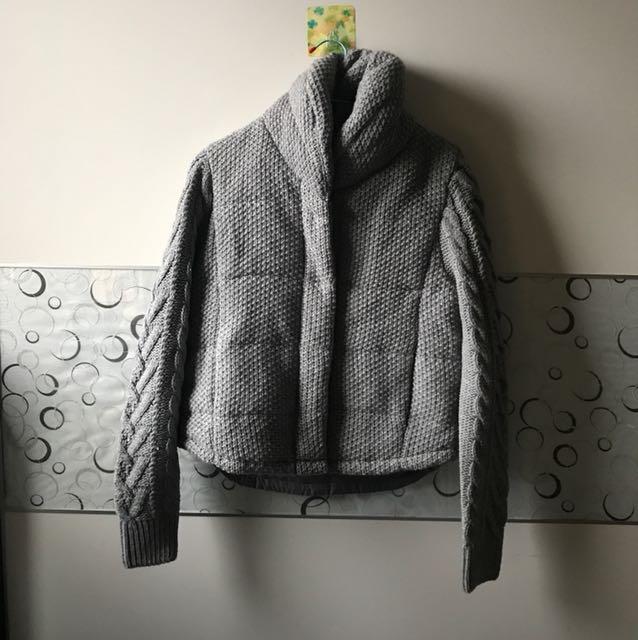 Moma厚針織外套