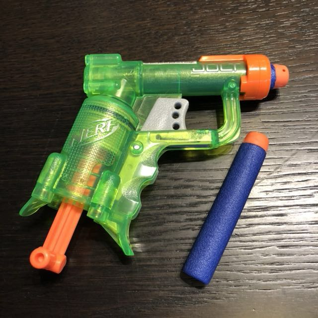 ... in single shot, dual-wieldable pistols. Nerf lovers, consider this your  PSA. And if you need a few suggestions for Nerf weaponry worth picking up,  ...
