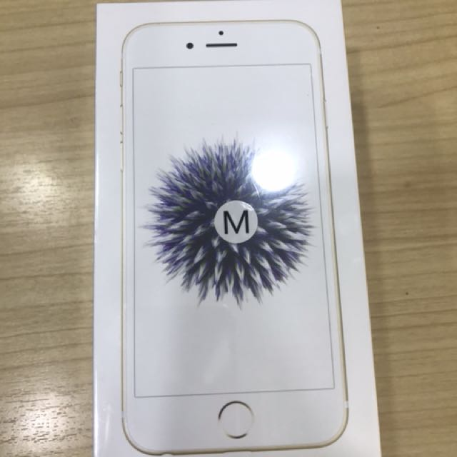 new iphone 6 32gb Gold MY