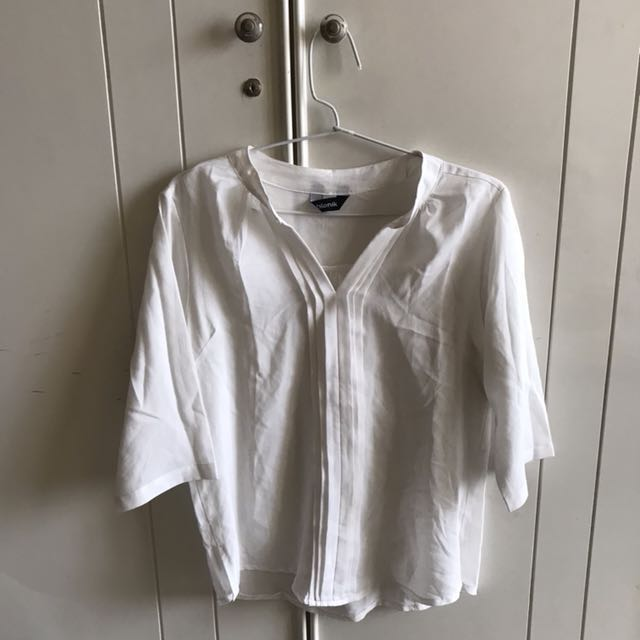 [NEW] White Transparant Office Shirt