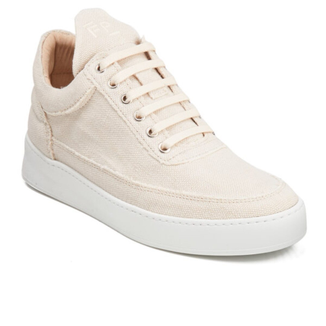 NIB Filling Pieces SS17 Low Top JENNA, Beige, EU40, Handcrafted in Portugal
