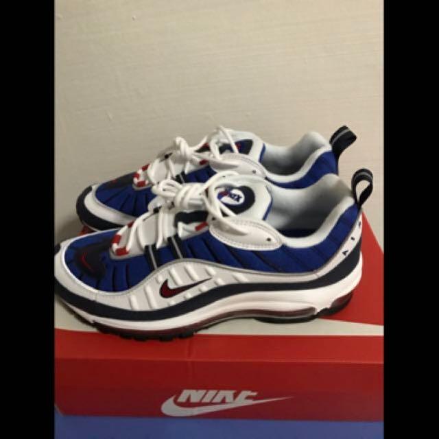 timeless design 63282 b1387 Nike Air Max 98 Gundam US 9, Men's Fashion, Footwear on ...