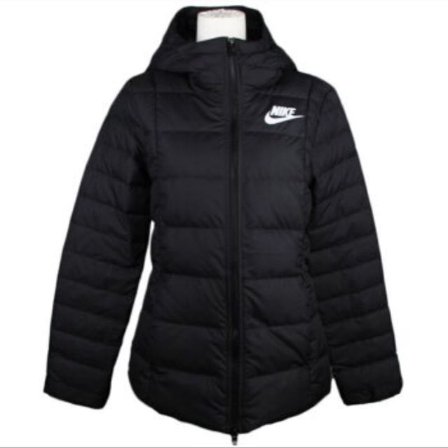 Nike NSW Fill Jacket 女裝 連帽 羽絨外套 黑854863-010