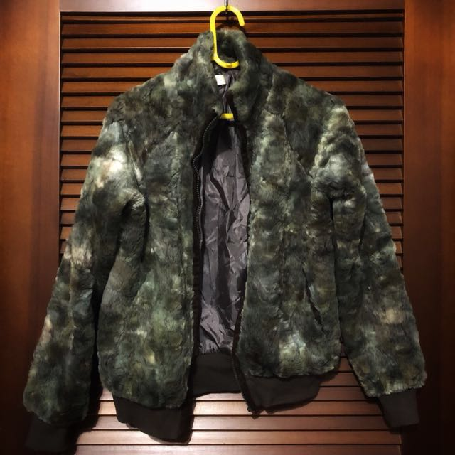 《冬季出清》Nouerue皮草休閒風短板外套