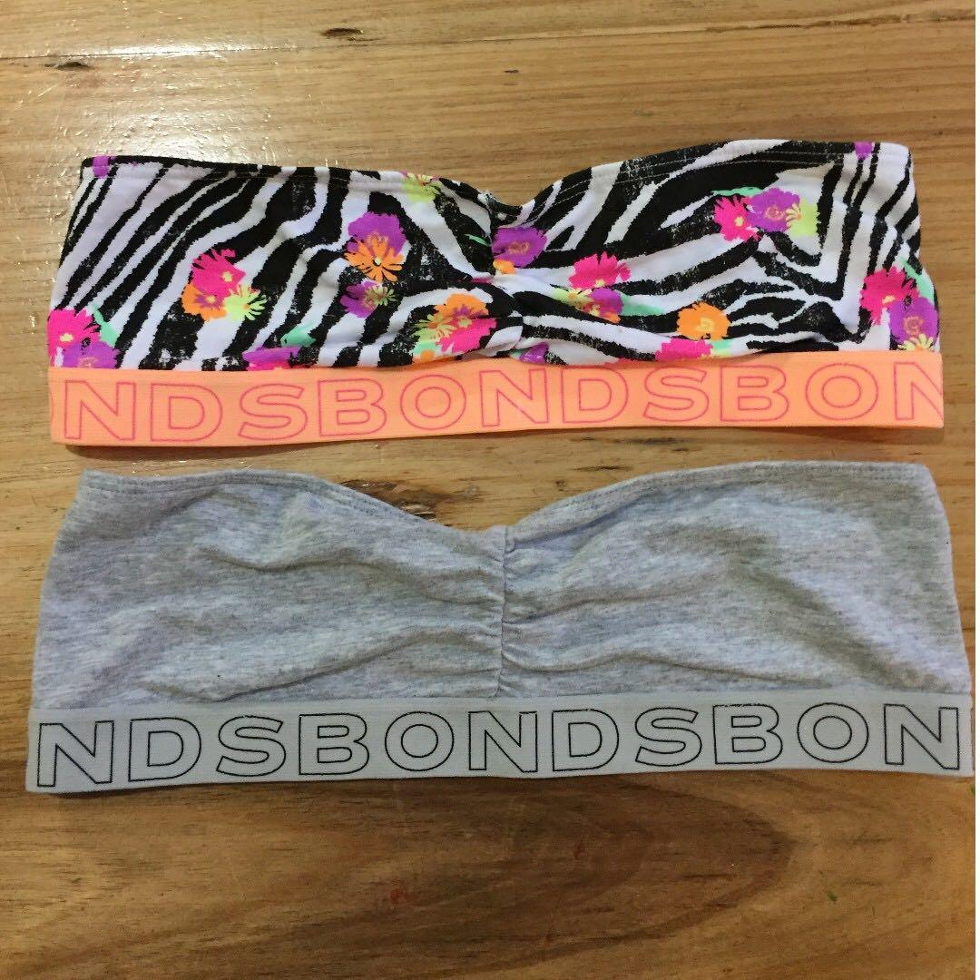 NWOT Size 10 Bonds Bandeau Bras x2