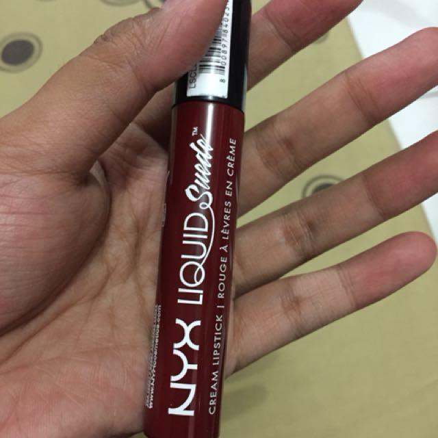 NYX Liquid suede (matte)