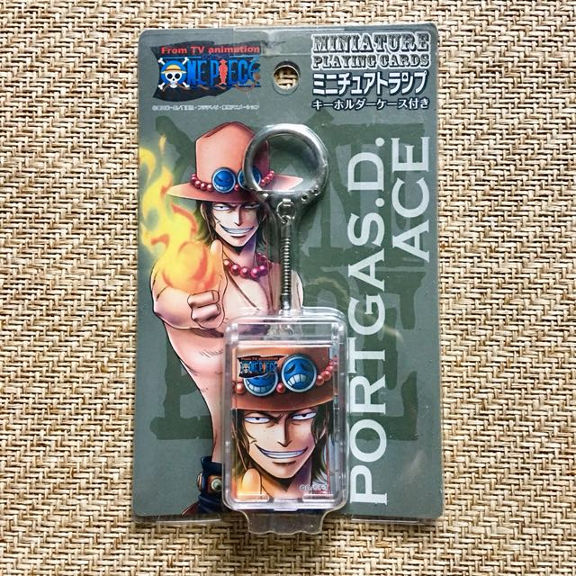 ONE PIECE Fire Fist Ace miniature playing cards