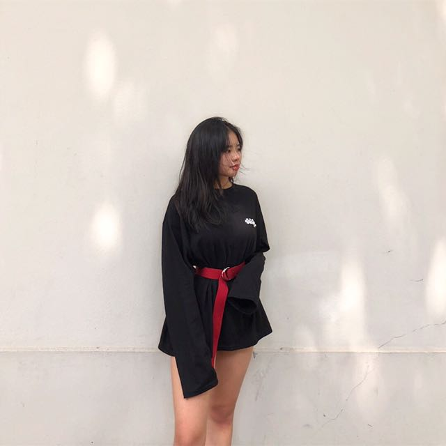 Oversized Black long sleeve